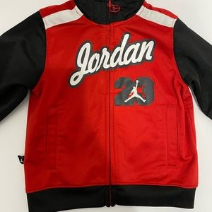 3T Jordan zip up sweater like new